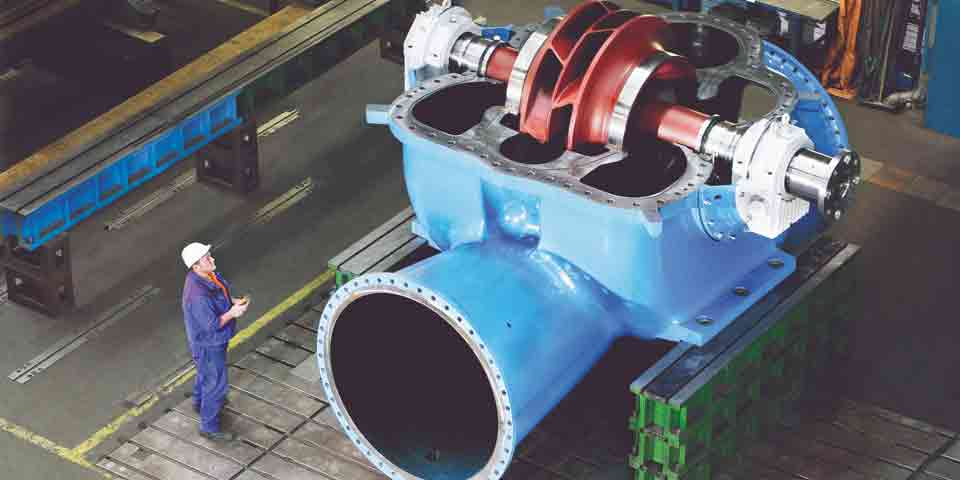 Split Casing Pump Two Stage Manufacturers In California